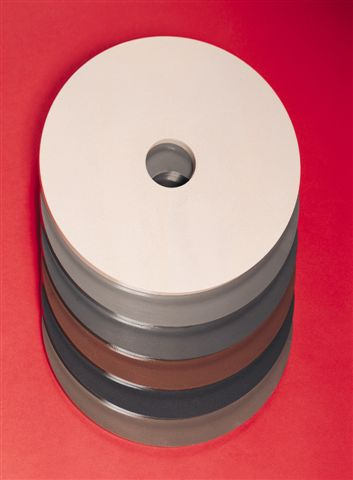 Diamond Fine Grinding Polishing Discs, Kemet Ceramic - 1/4